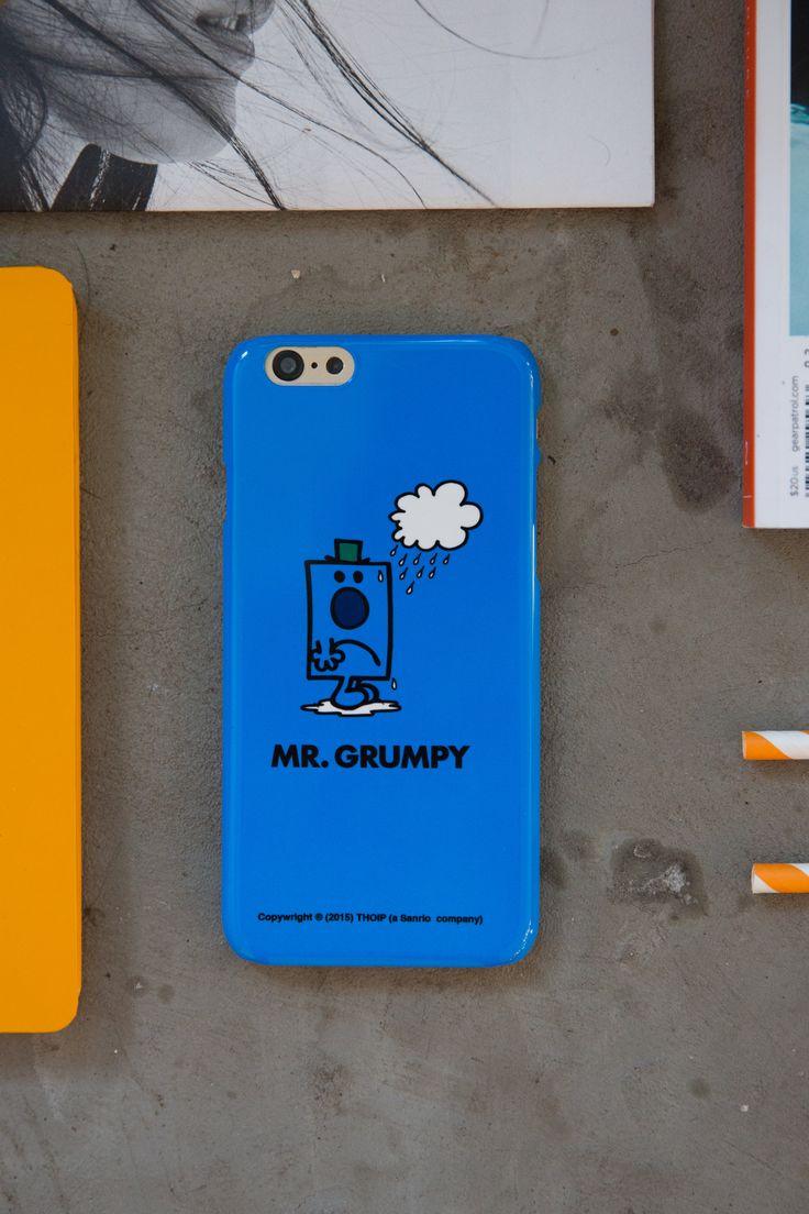 Mr. Grumpy iPhone Case