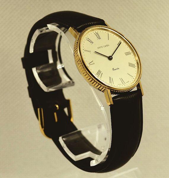 PIERRE CARDIN Quartz watch for men from 1980's