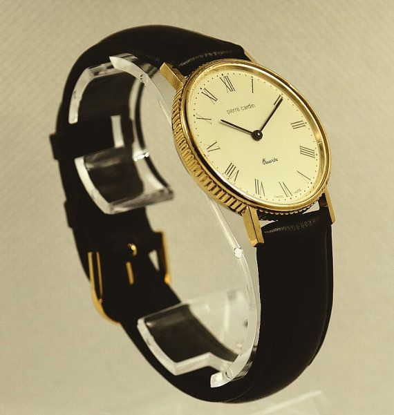 PIERRE CARDIN Quartz watch for men from 1980's