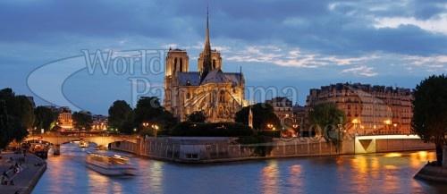 Paris Panorama Notre Dame