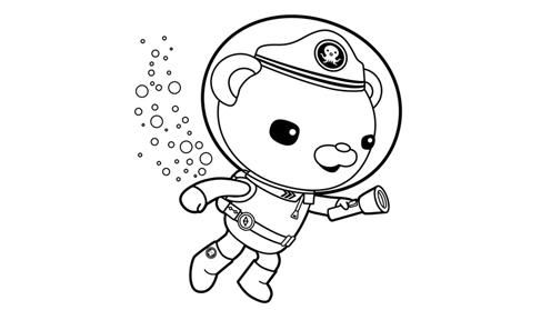 Octonauts coloring pages tiny overlords pinterest for Disney junior octonauts coloring pages