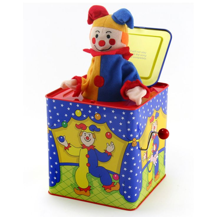 Old Time Toys And Games : Best jack in the box images on pinterest