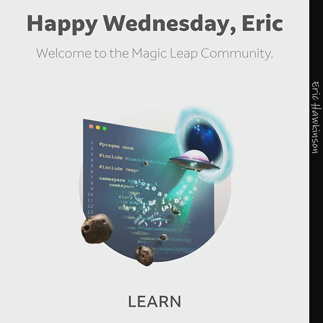 Checking out @magicleap development options still no idea how much an #magicleapone will cost? I am looking at developing for my research in #augmentedlearning http://x.co/mavrsig