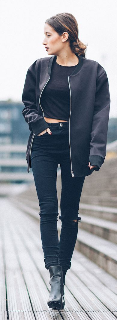 Best 25  Bomber jackets ideas on Pinterest | Bomber jacket, Dark ...