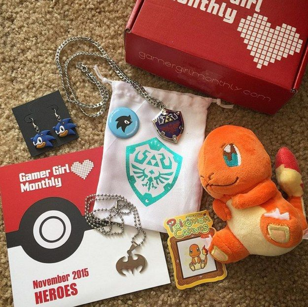 Gamer Girl Monthly, $13 | 15 Wonderfully Nerdy Subscription Boxes Every Culture Vulture Will Adore