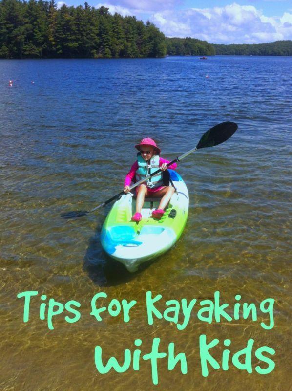 Tips for Kayaking with Kids #ebayguides #kayaking #kids @ebay