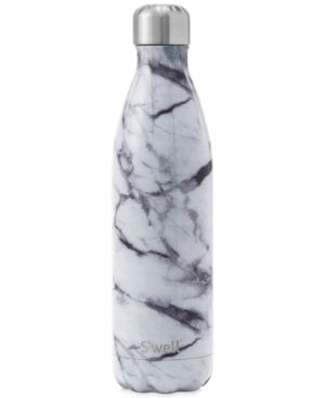 S'Well 25-oz. White Marble Water Bottle - White