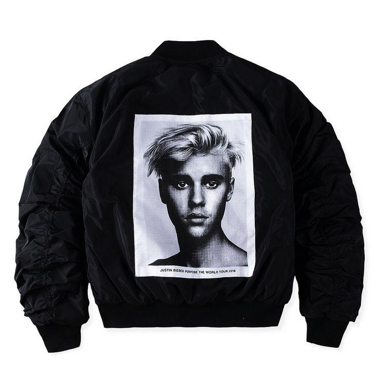 FOG winter jacket men PURPOSE TOUR zipper coats justin bieber winter coats