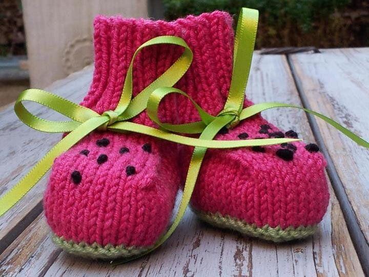 Twitter / BennyBoosKnits: Watermelon Boos in merino-silk ...