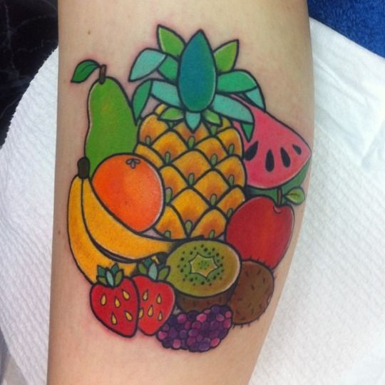 68 best images about pineapple tattoo on pinterest r for Valentines tattoo seattle