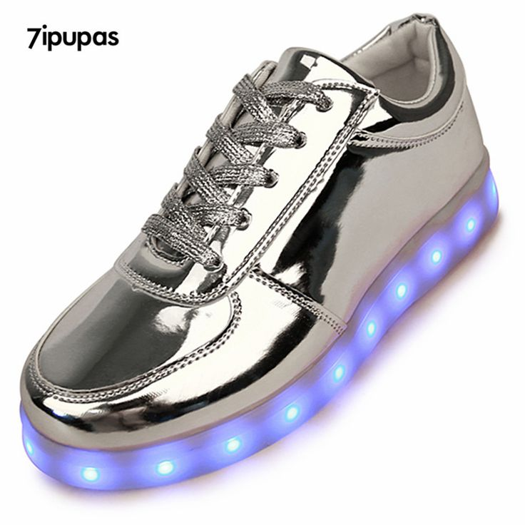 2016 Shining 11 Colors Luminous Sport LED Shoes men with Lighted for Adults Light Up Shoes led Unisex Glowing USB Charging Shoes