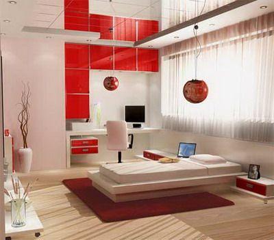 Detalles de color rojo