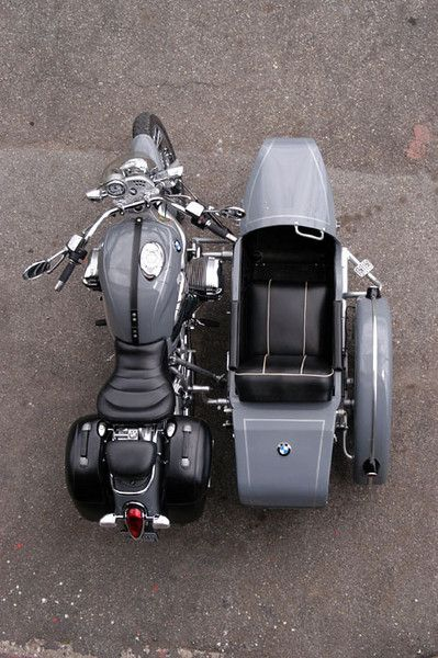 """BMW R1200C with sidecar The word car is in the descript... so it belonged on this board... or i could have put it in """"my style"""" :)"""