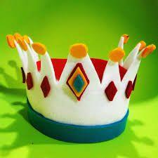 Resultado de imagen para imagenes de coronas de rey en goma eva