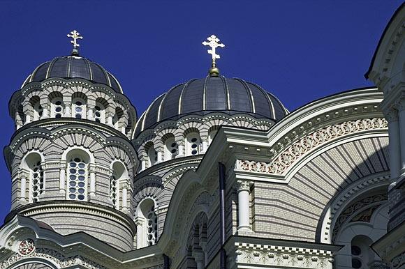 Orthodox church, Riga, Latvia