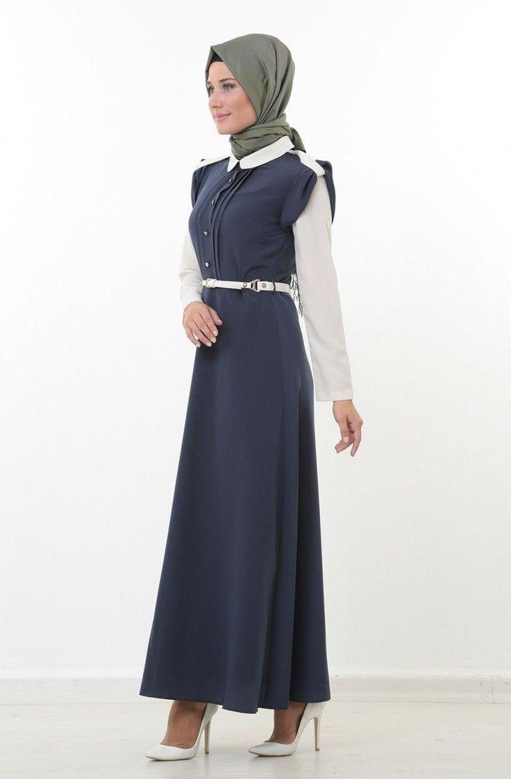 İpekdal Bebe Yaka Elbise 3640-1752