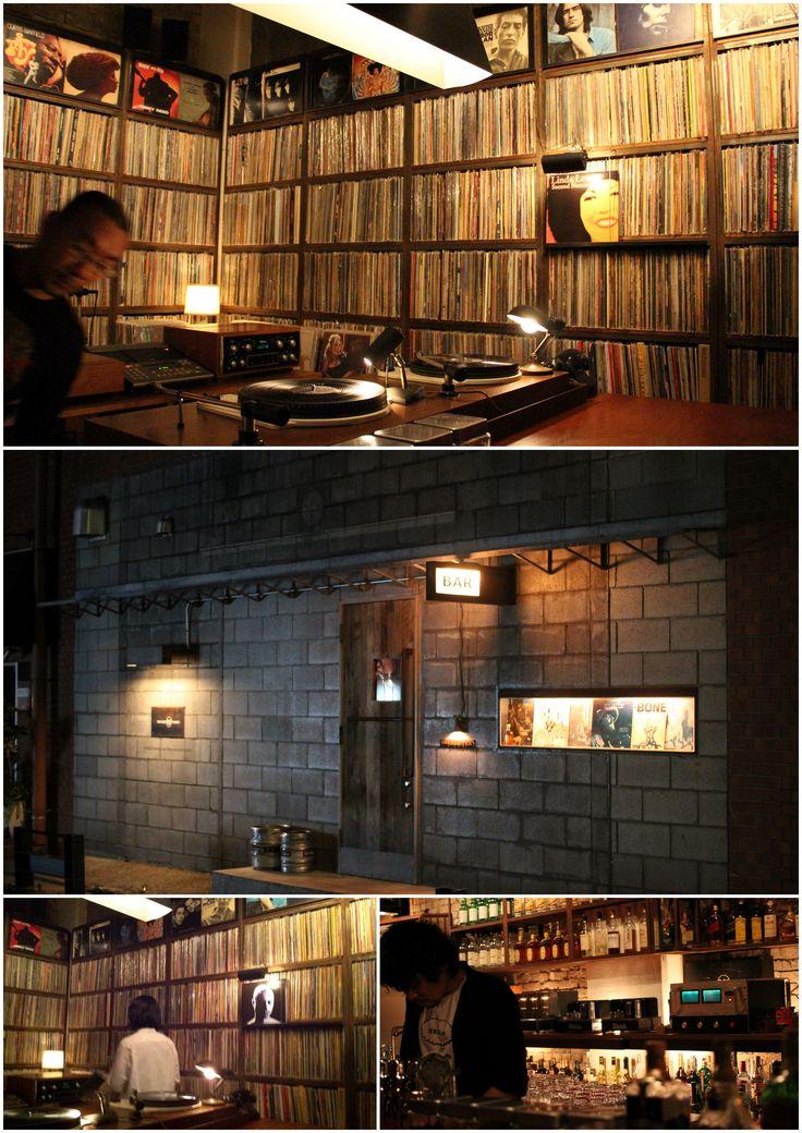 Bar Martha Ebisu Tokyo Rca Tubes Vinyl Bar Dream