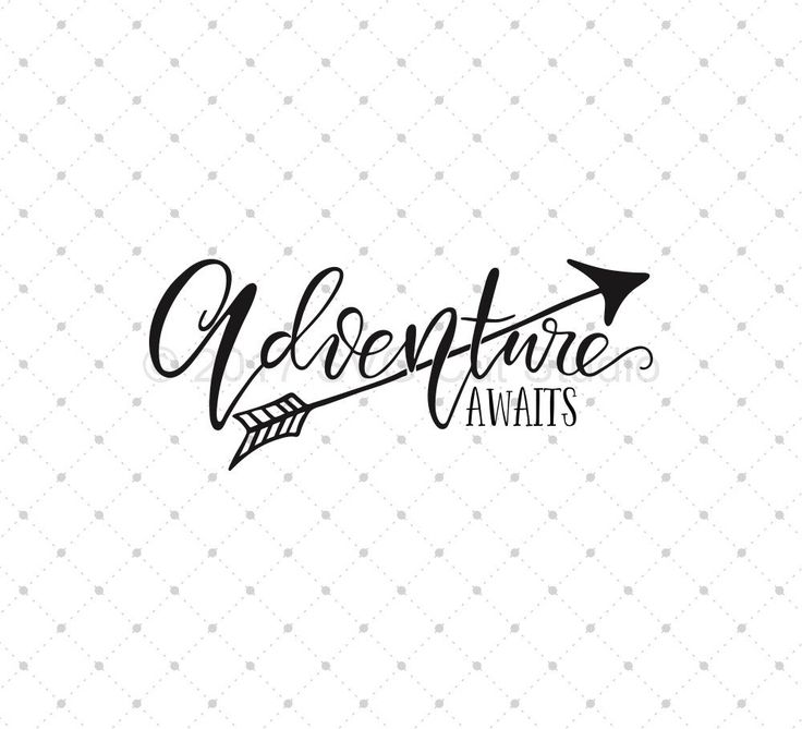 Adventure Awaits SVG Cut Files for Cricut and Silhouette
