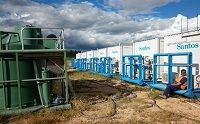 On-site sewage treatment plant at mining camp accommodation - click for full case study