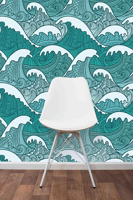 Temporary Self Adhesive Removable Wallpaper Traditional