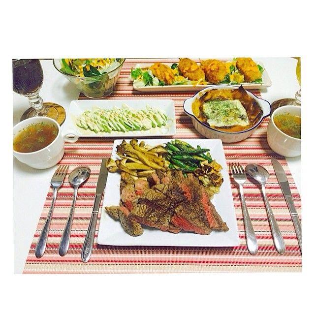 me3310chan✨ マーシャルが作ったよ。  #おうちごはん#晩ご飯#夕食#夜ごはん #洋食#料理#男飯#彼飯#ごちそうさまでした #片付けまでいつもしてくれる #dinner#home#party#eat#delicious#good #food#foodpic#my#boyfriend#pic#goodnight