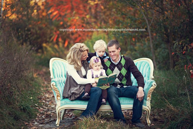 I want a family pic on a couch in the middle of a field somewhere!: