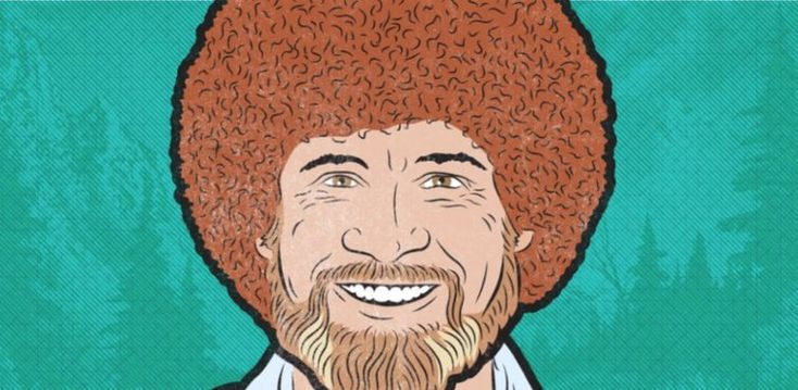 PainterTakes On Monumental Mission To Paint All 403 Paintings From Bob Ross' 'The Joy Of Painting'