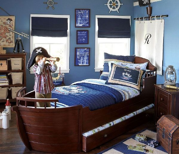 кровать-лодка