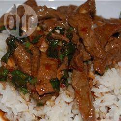 Photo de recette : Bœuf à la mongolienne super simple et bien épicé