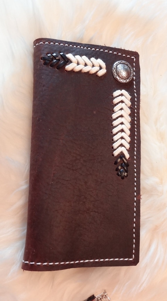 Leather Roper Wallet by RodeoMomKat on Etsy, $45.00