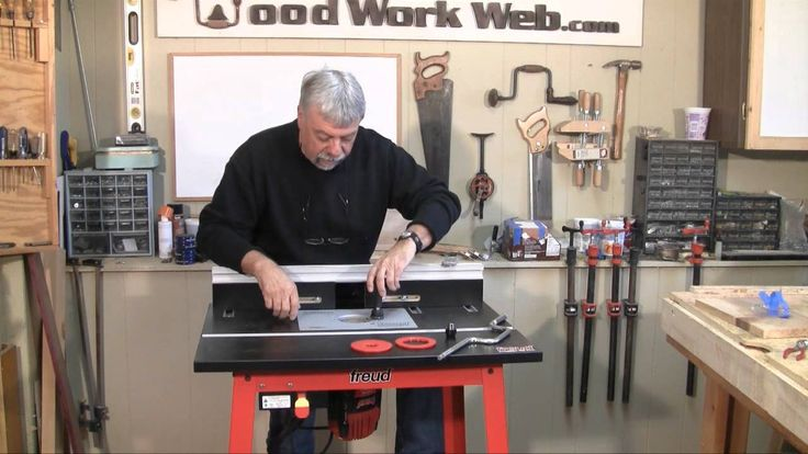 Freud Router and Router Table Review.