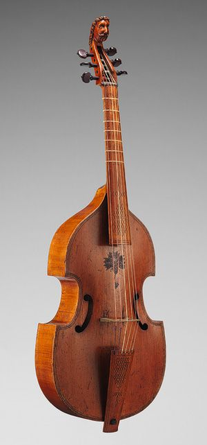 Bass viol [England] (2009.42) | Heilbrunn Timeline of Art History | The Metropolitan Museum of Art