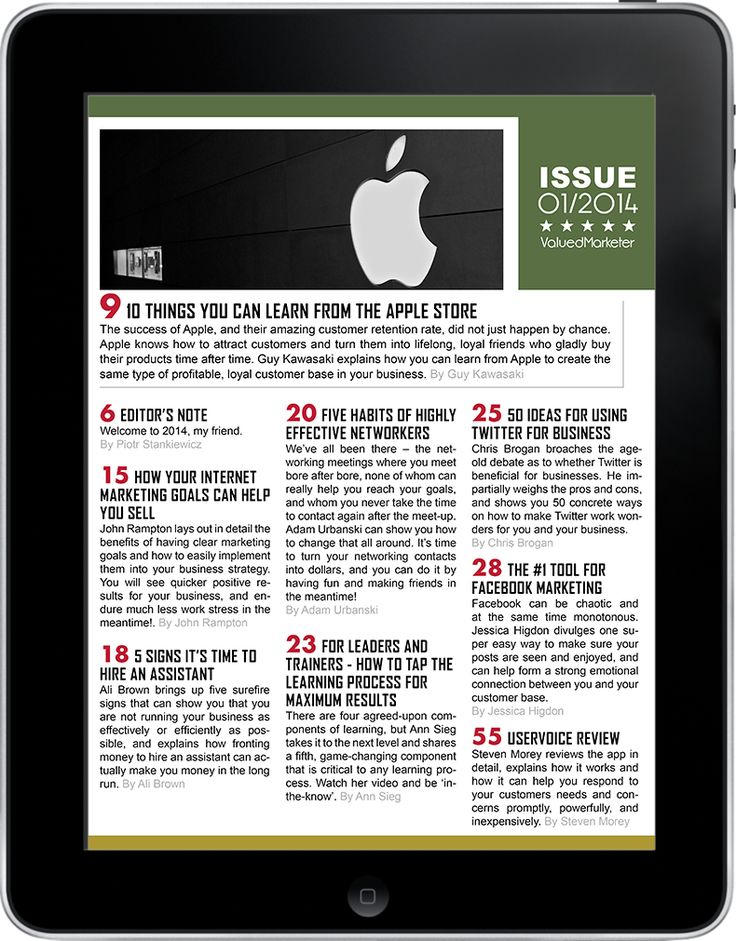 ValuedMarketer Magazine January 2014.  More info:  http://magazine.valuedmarketer.com  iTunes: https://itunes.apple.com/us/app/valuedmarketer-magazine-become/id709724297?l=pl&ls=1&mt=8