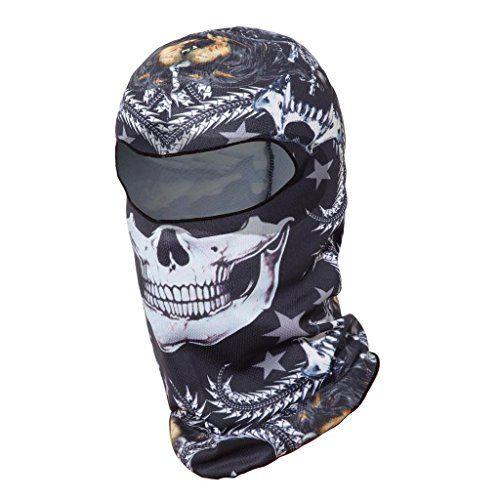 Balaclava Full Face Mask Motorcycle Helmet Liner Breathable Multipurpose Outdoor Sports Wind Proof Dust Head Hood