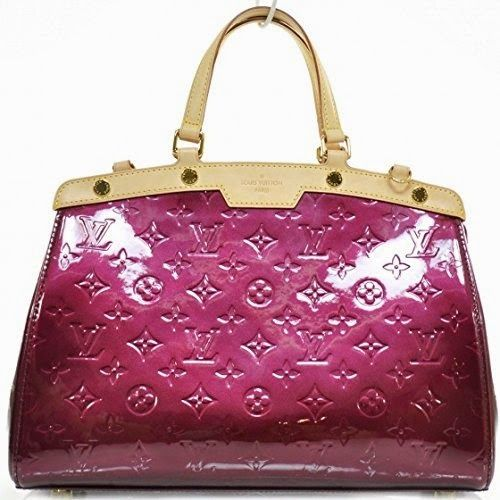 Louis Vuitton® Brea Vernis Monogram Leather Handbag w/ Shoulder Strap. Made in France
