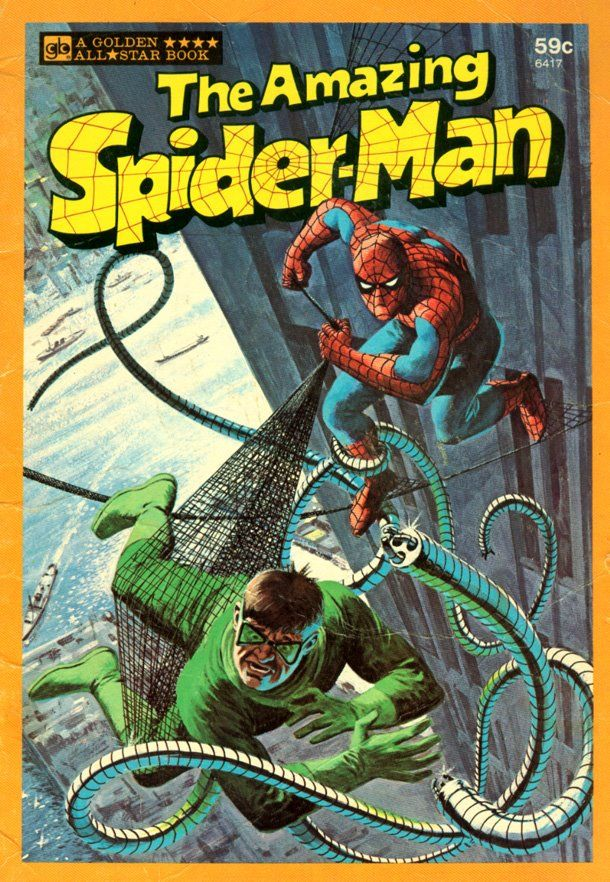 Pin by Todd Novak on Cool Stuff Spiderman book