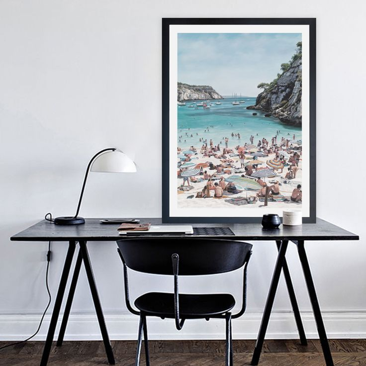 Featuring the stunning busy scene of a European beach cove in the Summer, this canvas print was originally hand painted by our in-house artist team, and now available as a reproduction stretched and ready-to-hang canvas art piece. This artwork design is also available as a paper Art Print (framed or unframed). Size & frame colour options available. We ship worldwide. #ThePrintEmporium #wallart #artprint #interiorinspo #beach #european #vacation www.theprintemporium.com.au