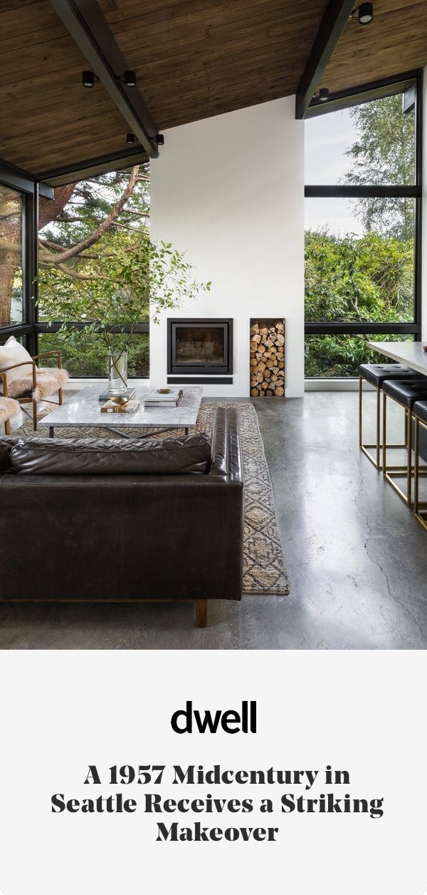 Montlake House by Mowery Marsh Architects – Hawley Adelbert Dudley's original midcentury home is renovated and renewed with luxe modern style