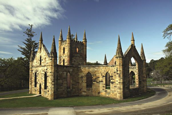 The historic Port Arthur convict site is a must-see near Hobart, with plenty of ruins & intact buildings to explore!