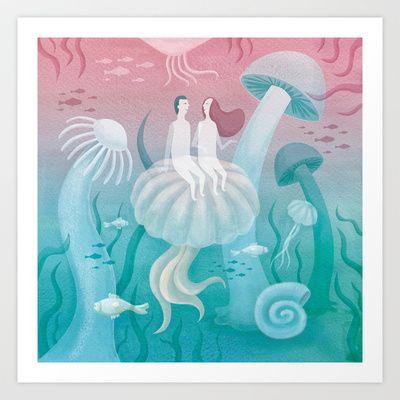 Harmony Art Print by Krisztina Maros - $18.00