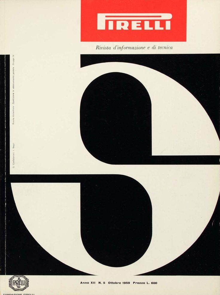 Giulio Confalonieri and Ilio Negri, cover of the Pirelli magazine, 1959 http://www.fondazionepirelli.org