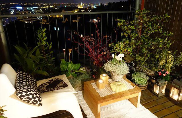 dream gardens: Môj balkón na jeseň
