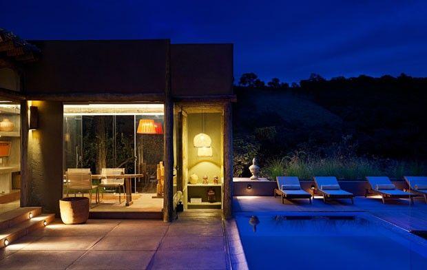 Campo sem clichês Luxo despojado e acento contemporâneo definem a arquitetura do novo Spa L'Occitane em Minas Gerais