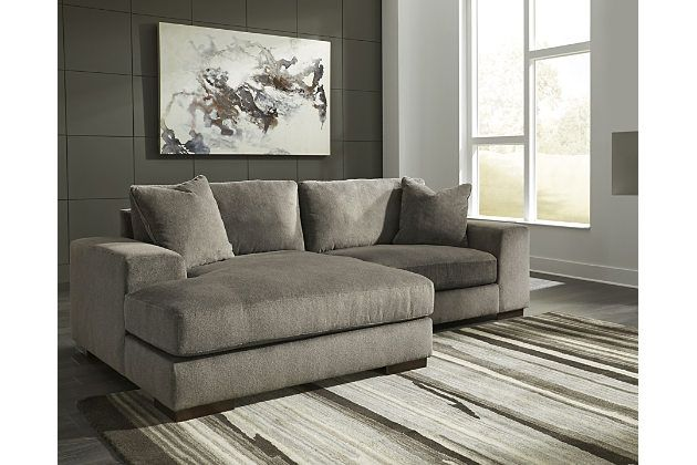 Manzani 2 Piece Sectional With Chaise Ashley Furniture Homestore Furniture Sectional Living Room Designs