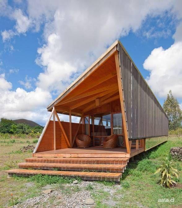 cabañas de montaña diseño - Buscar con Google