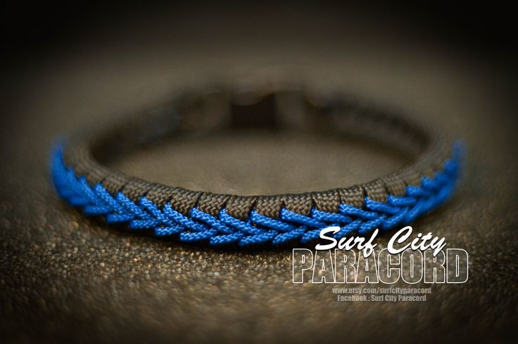 fishtail paracord bracelet with center stitch https www