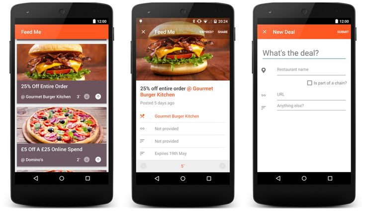 Local Restaurant Deals App with Some Exciting Features Added To It