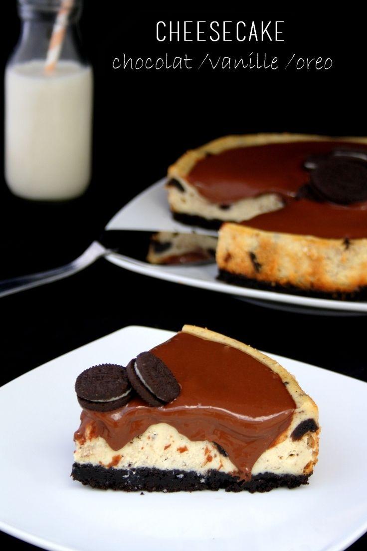 Cheesecake {chocolat / vanille / oreo}