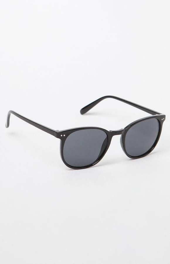 93de2b0cb4b La Hearts Thin Square Sunglasses