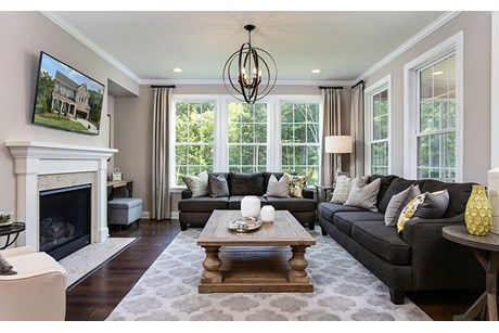 Woods At Fairbanks by Standard Pacific Homes in Cary, North Carolina